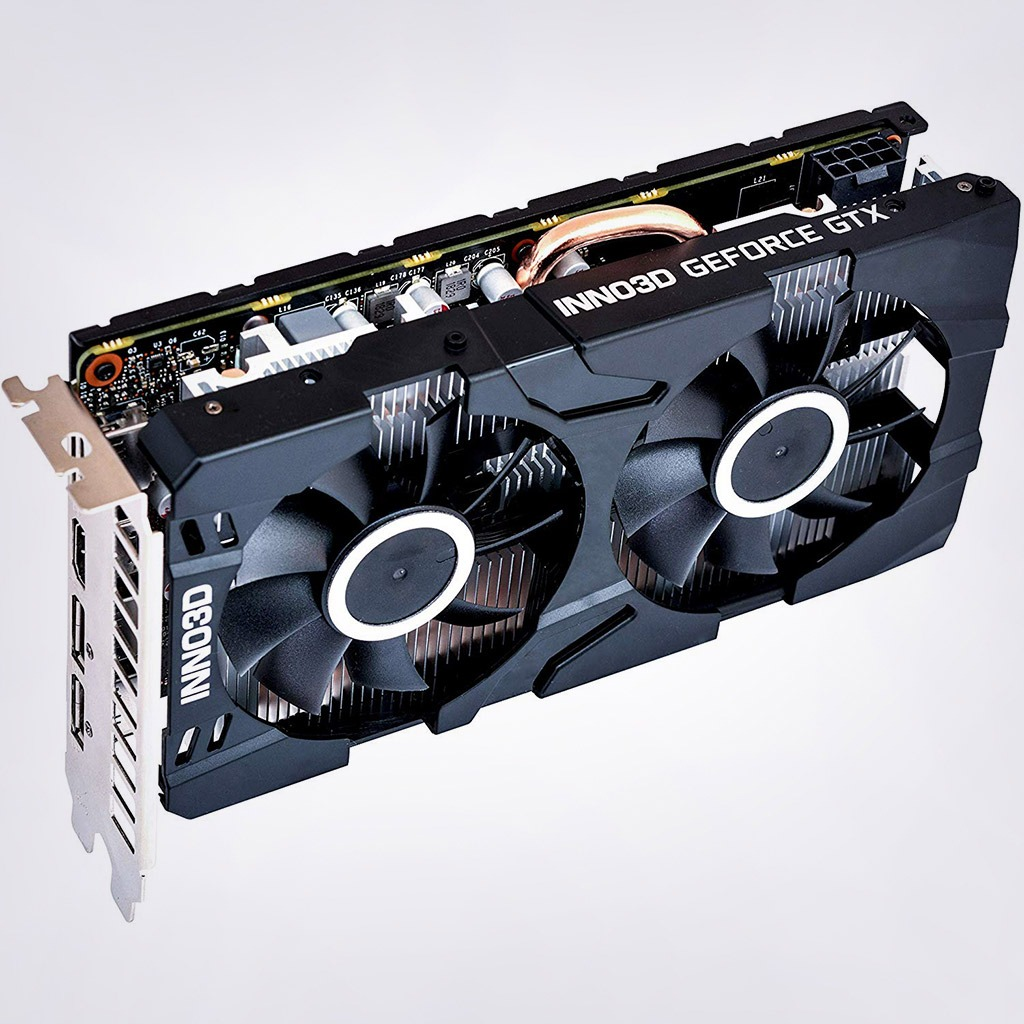 Image result for INNO3D GTX 1660 Super Twin X2 6GB GDDR6 Gaming Graphic Card