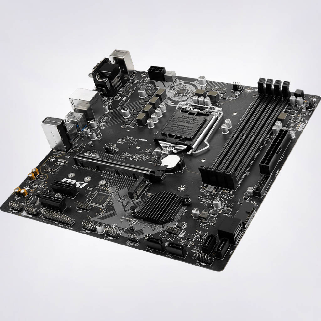 Image result for MSI B365M PRO-VDH Motherboard